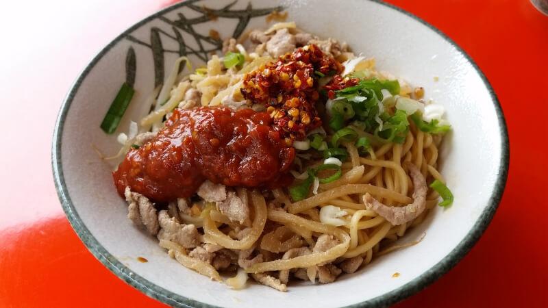 台湾の乾麺