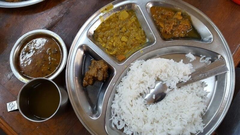 ミャンマーのカレー