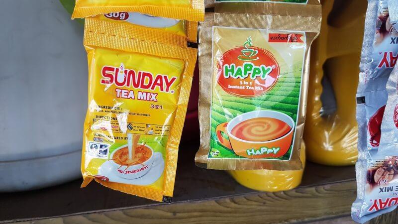 ミャンマーのカフェ