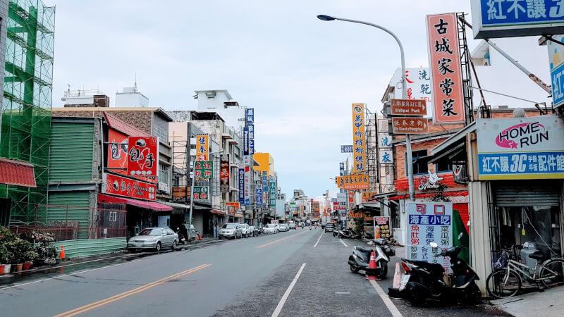 恒春鎮の街の中心部
